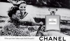 Cheryl Tiegs 1969 Chanel Ad