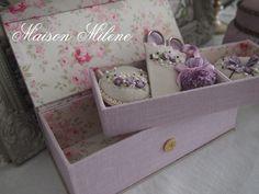 刺繍のお針箱 やっとサンプルが完成の画像:Maison Milene~Singapore