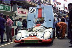24 heures du Mans 1970 - Porsche 917K #20- Pilotes : Joseph Siffert / Brian…
