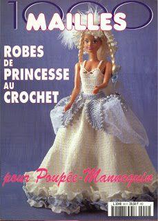 REVISTAS DE MANUALIDADES GRATIS: 1000 Mailles...revista ropa para la barbie