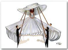 Ruben Toledo: 'Circus' Wedding