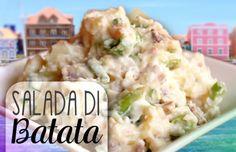 Salada di Batata Latin American Food, Latin Food, Creole Kitchen, Good Food, Yummy Food, Exotic Food, International Recipes, Food Inspiration, Salad Recipes