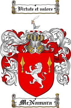 7 Best Mcnamara Coat Of Arms Mcnamara Family Crest Images On