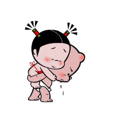 Love Cartoon Couple, Cute Couple Art, Cute Couple Pictures, Cute Cartoon Characters, Cartoon Gifs, Animated Emoticons, Animated Gif, Flying Kiss Gif, Snoopy Happy Dance