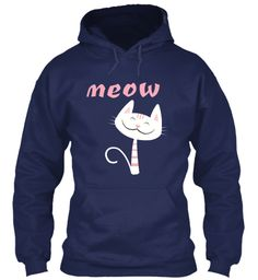 Cat T Shirts Limited Edition Navy T-Shirt Front
