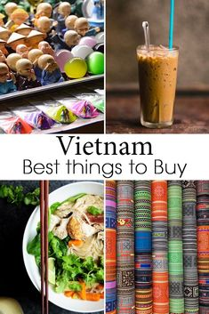 A comprehensive list of everything you have to buy when visiting Vietnam and where to find them. From Vietnamese coffee, to traditional clothing and art. #Vietnam #VietnamTravel #VietnamGuide