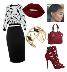 """""""Untitled #25"""" by trevordjones on Polyvore featuring Alexander McQueen, Giuseppe Zanotti, Lime Crime, Rebecca Minkoff, women's clothing, women, female, woman, misses and juniors"""