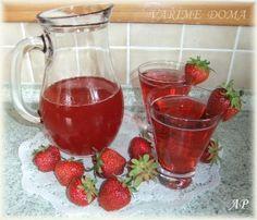 Jahodový sirup Strawberry Simple Syrup, Fruit, Food, Syrup, Essen, Meals, Yemek, Eten