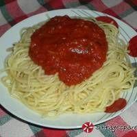 Linguini με ιταλική σάλτσα