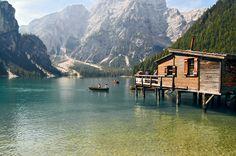 Vacanza in #Valdaora - #olang nelle dolomiti del #südtirol. Visita al lago di #Braies #BraiesLake #Aunpassodalcielo #terencehill