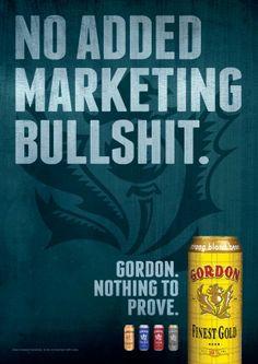 Gordon Finest Beers: Bullshit