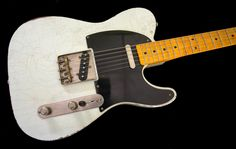 Destroy All Guitars - Whitfill T Olympic White