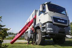 The Action Mobil Global XRS 7200 at Düsseldorf Caravan Salon 2014 (photo: Messe Düsseldorf...