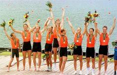 Rowing - Men's eights (Atlanta 1996). Michiel Bartman, Jeroen Duijster, Ronald Florijn, Koos Maasdijk, Nico Rienks, Diederik Simon, Niels van Steenis, Niels van der Zwan and Henk-Jan Zwolle