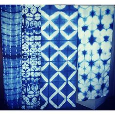 Related image Shibori Tie Dye, Textiles, Boro, Fabric Patterns, Fabric Crafts, Quilts, Blanket, Sewing, Image