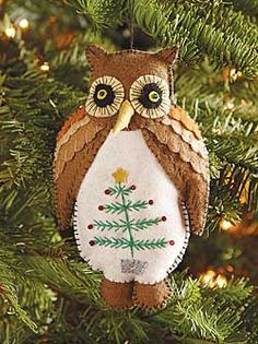 Give a Hoot Owl Ornament