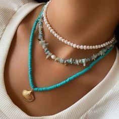 Mood Jewelry, Trendy Jewelry, Summer Jewelry, Cute Jewelry, Jewelry Accessories, Fashion Jewelry, Handmade Wire Jewelry, Handmade Necklaces, Beaded Jewelry
