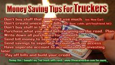 Use trucking to start creating wealth. Its the perfect situation to position you to do this I will show you how. Creating wealth from ideas while you are driving is a plus. Used Trucks, Big Trucks, Money Tips, Money Saving Tips, Truck Driving Jobs, Truck Living, Creating Wealth, Heavy Truck, Busy At Work
