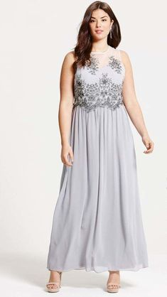 Finding trendy yet sophisticated plus size bridesmaid dresses can be quite  a tiring hunt. Grey 1206ec7e869c