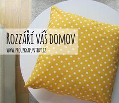 Žlutá barva vnese do vašeho domova slunce.