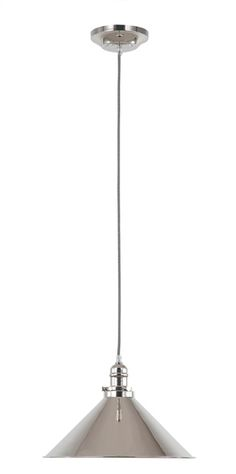Polished Nickel Classic Style Single Pendant - The Lighting Centre Island Pendant Lights, Pendant Lighting, Chandelier, Wall Lights, Ceiling Lights, Polished Nickel, Desk Lamp, Floor Lamp, Design Inspiration