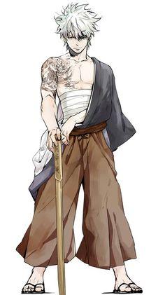 Gintoki - Gintama.