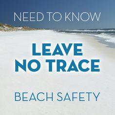 Leave No Trace Information