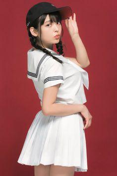 Beautiful Japanese Girl, Cute Japanese, Japanese Beauty, Asian Beauty, Korean Beauty, Cute Asian Girls, Sexy Hot Girls, Cute Girls, Girls Uniforms