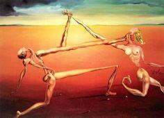 """Salvador Dali ~ """"Rock & Roll"""", 1957"""