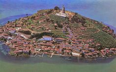 Isla de Janitzio is one of the five islands of Lake Pátzcuaro in the state of Michoacán, in Mexico.