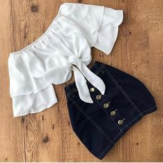 School outfits 63 Trendy Kleidung für Teenager Outfits Dates Outfits The History of Rings During the Trendy Outfits For Teens, Crop Top Outfits, Cute Summer Outfits, Cute Casual Outfits, Pretty Outfits, Stylish Outfits, Outfit Summer, Outfits For Dates, Dress Outfits