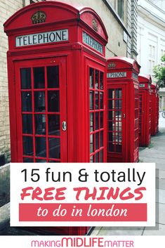 Going to London? It can be expensive, but it doesn't have to be! Check out this guide of 15 fun & totally free things to do in London, and fulfill your bucket list on a budget. Cool Places To Visit, Places To Travel, Travel Destinations, Places To Go, Holiday Destinations, Europe Places, London Tours, London Travel, Edinburgh Travel