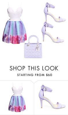 """pretty day"" by latecalwcervantez ❤ liked on Polyvore featuring Steve Madden, Christian Dior, women's clothing, women, female, woman, misses and juniors"