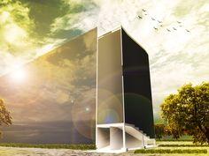 Architectural Rendering: Proposed Hospital Ramp Design
