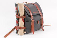 Ruckus Sack // Diaper Bag + Changing Mat Combo - Slate Grey
