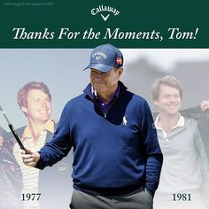 2 Wins  15 Top-10 Finishes  42 Consecutive Starts  #TheMasters  #TomWatson #Gentelmen #Excellence #AthletesHeart #Golf