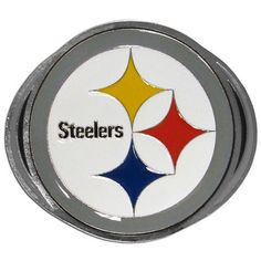 Pittsburgh Steelers Hitch Cover Class III Wire Plugs FTH160B2
