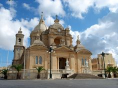 Nadur in Gozo Island -  Basilica. St Peter and St Paul.