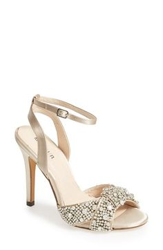 Free shipping and returns on Menbur 'Vera' Rhinestone Pump (Women) at Nordstrom.com. Curving, crystal-kissed straps cross at the toe of a silky pump balanced by a slender heel, revamping an understated silhouette with a burst of opulent sparkle.