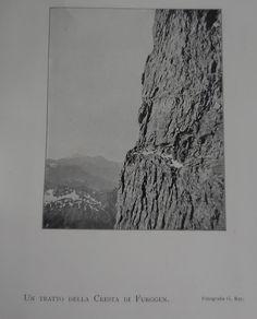 Un tratto della cresta di Furggen