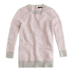 //Collection cashmere herringbone sweater//j.crew.