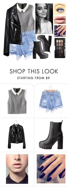 """Sabrina Carpenter inspired outfit"" by preshnimahanta ❤ liked on Polyvore featuring Yves Saint Laurent, Charlotte Russe, Easy Spirit, Lottie and NARS Cosmetics"