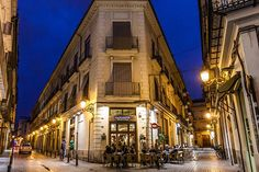 The historic Bar Pilar (recently renamed La Pilareta) is a locals' favorite in Valencia, Spain Places To Travel, Places To Visit, Valencia City, Exotic Places, Spain And Portugal, Beautiful Places, Street View, Italy, Vacation Ideas