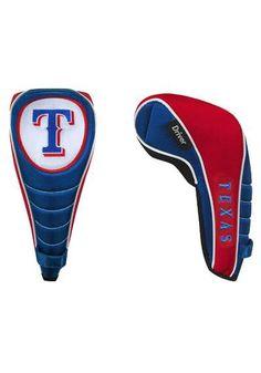 Texas Rangers Shaft Gripper Driver Golf Headcover  http://www.rallyhouse.com/shop/texas-rangers-10132490?utm_source=pinterest&utm_medium=social&utm_campaign=Pinterest-TexasRangers $24.99