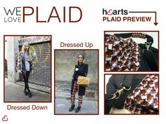 #Plaid is in for Fall!