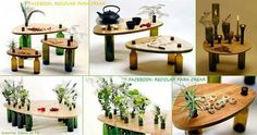 Mesas originales.