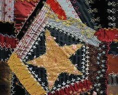 """Sarah C. Schooley  Made in Noble County, Ohio  1890  74"""" x 67""""  International Quilt Study Center, Ardis and Robert James Collection  1997.007.0695"""