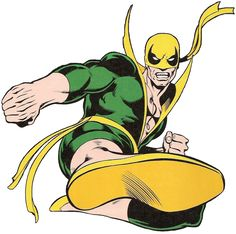 Classic Iron Fist by John Byrne