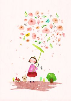 美畵 by THENEW ART AGENCY, via Behance