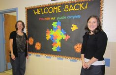 back to school bulletin boards | NCEA Elementary Schools Department hosted a back to school contest via ... More